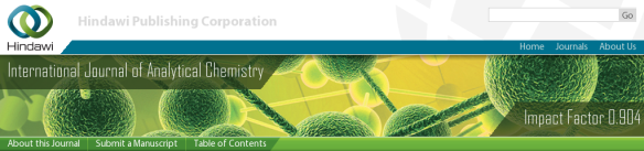 International Journal of Analytical Chemistry logo